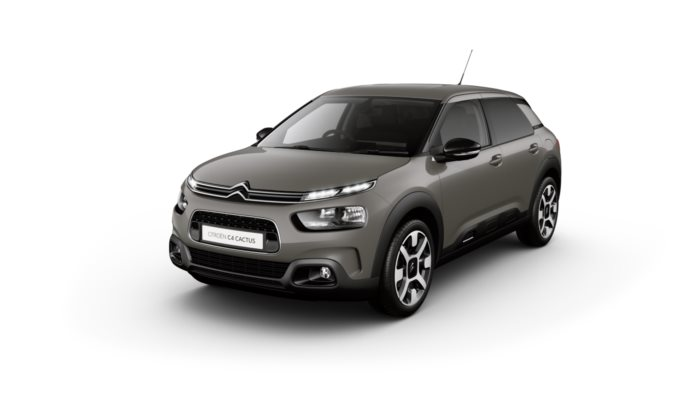 Citroen C4 Cactus Hatch - Available In Tapenade Grey