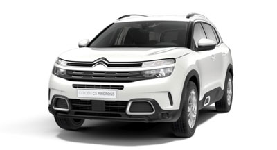 Citroen C5 Aircross Suv - Available In Pearl White